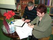 A szerződés aláírása